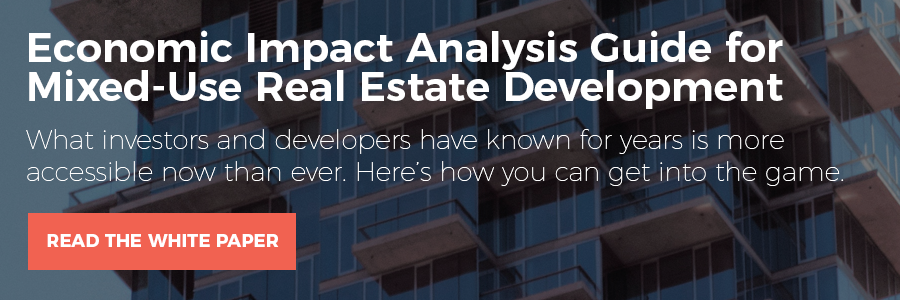 Commercial and residential real estate brokers and investors are relying on economic impact data more and more to gain a competitive edge in the market. Are you?