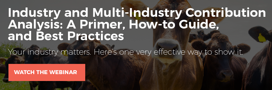 WEBINAR: Industry and Multi-Industry Contribution Analysis: A Primer, How-to Guide, And Best Practices