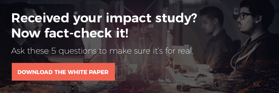 Received your impact study? Now fact-check it!
