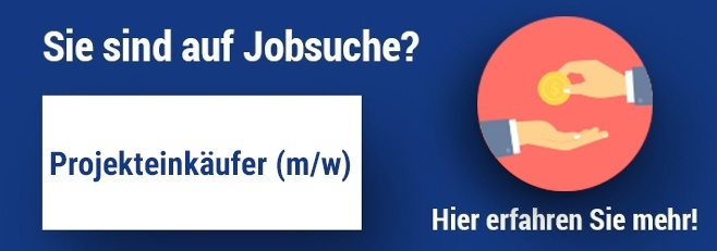Jobangebot Projekteinkäufer
