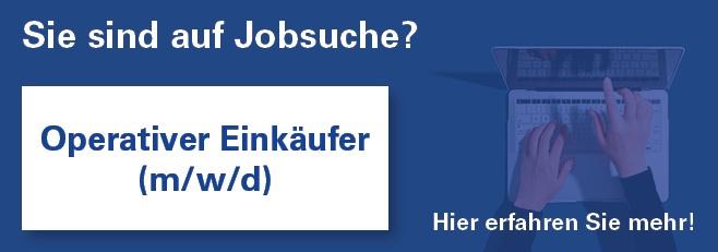 Jobangebot Operativer Einkäufer