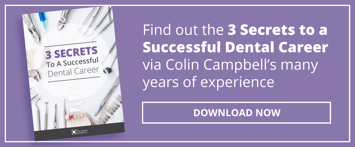 Download the three secrets to a successful dental career