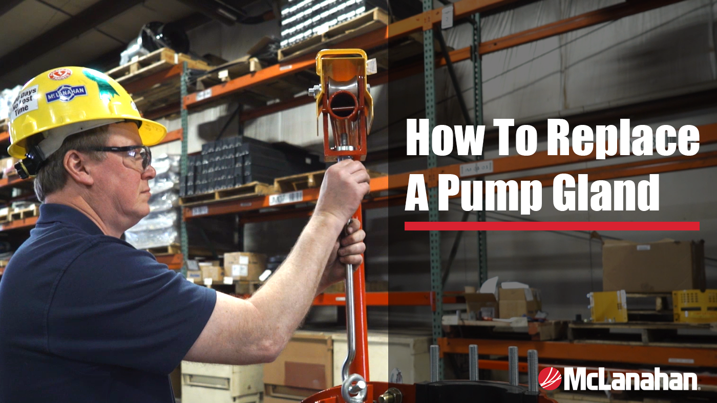 Watch how to change a pump gland