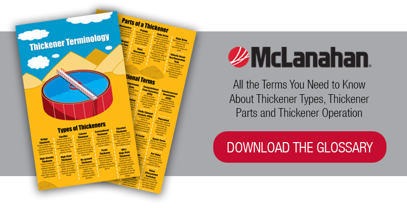 Glossary of Thickener Terms