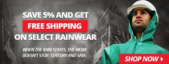 Rainwear Savings