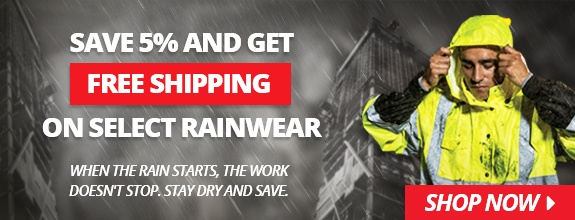 Rainwear Savings