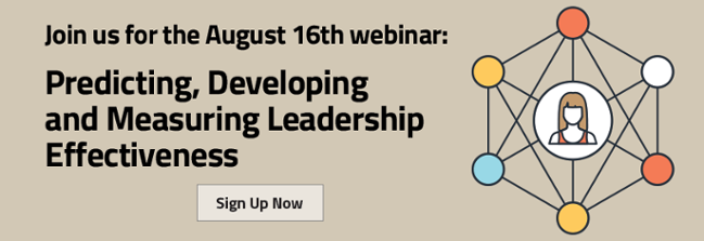 Predicting, Developing and Measuring Leadership Development