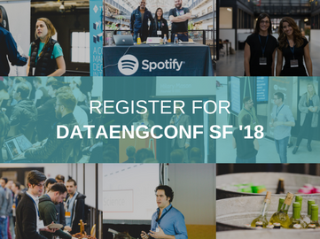 Pre-Register for DataEngConf SF '18
