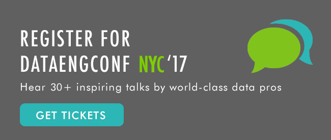 Register for DataEngConf NY '17