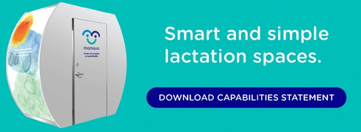 Smart and simple lactation spaces.