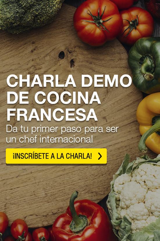 Charla demo de cocina francesa - Institut Paul Bocuse