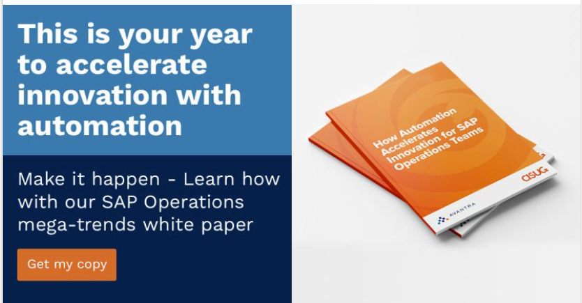 Read the SAP operations mega-trends white paper