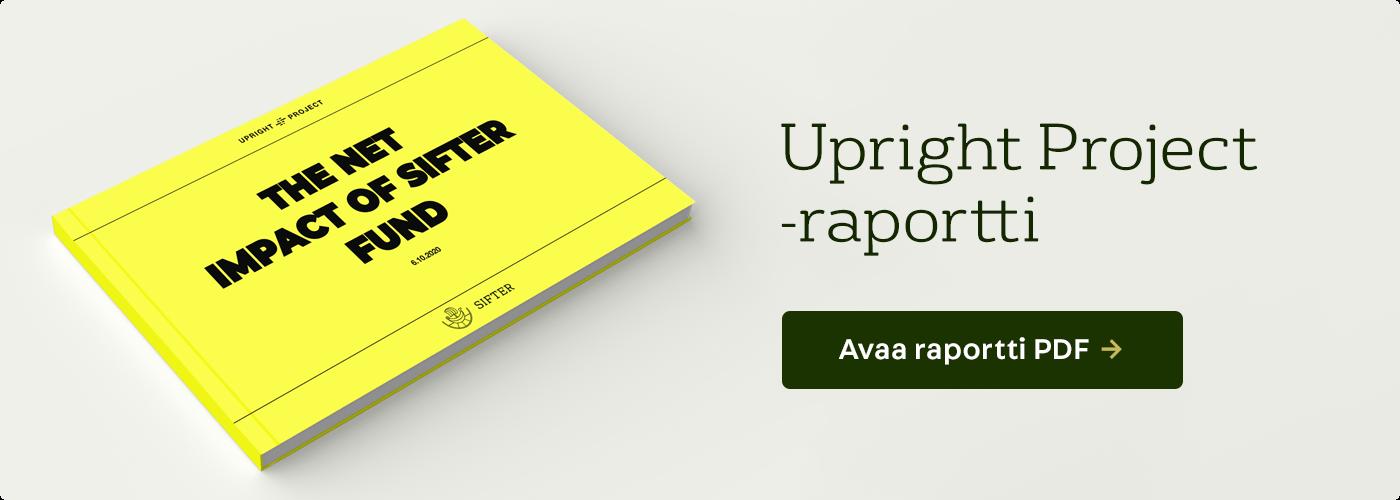Avaa Upright Project -raportti PDF