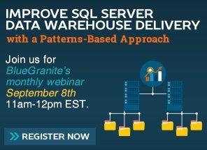 Webinar SQL Data Warehouse Patterns-Based Approach