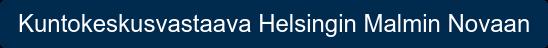 Kuntokeskusvastaava Helsingin Malmin Novaan