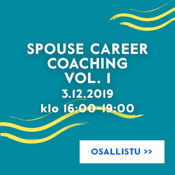 Spouse Career Coaching vol. 1