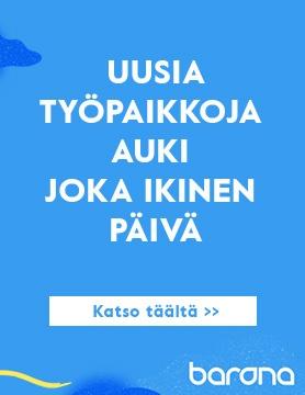 Barona avoimet työpaikat Tampere