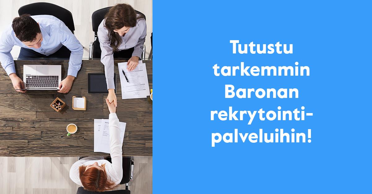 baronan rekrytointipalvelut