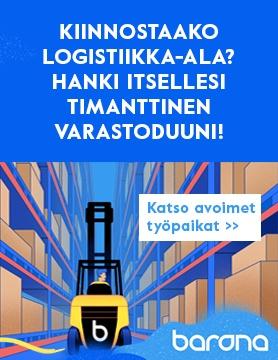 Barona Logistiikka avoimet työpaikat