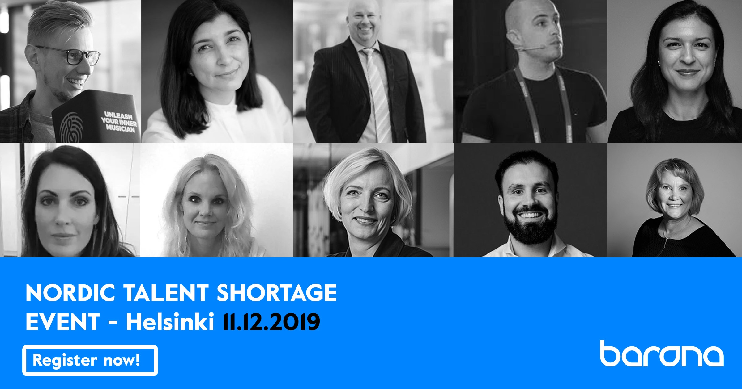 Nordic talent shortage event - get your seat!