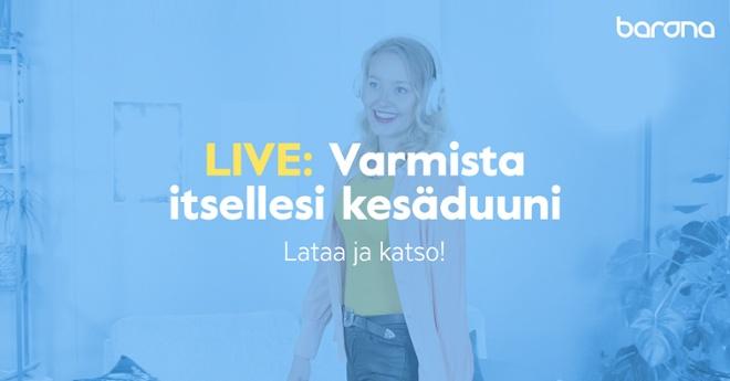 LIVE: VARMISTA ITSELLESI KESÄDUUNI