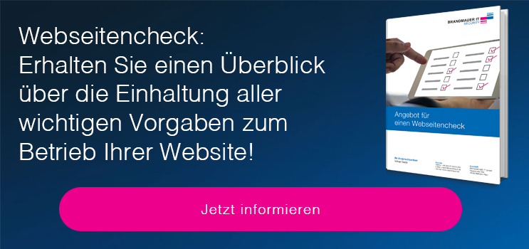 BRANDMAUER IT Webseitencheck