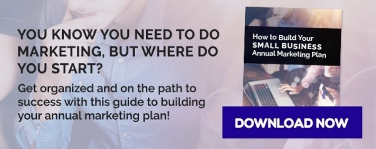 Building a small business annual marketing plan