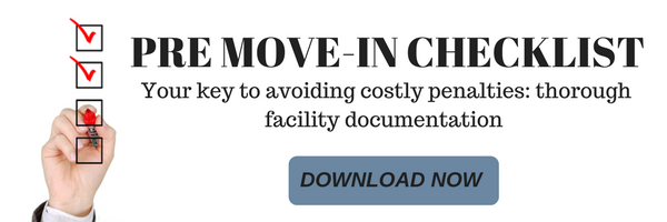 Download your free pre move-in checklist