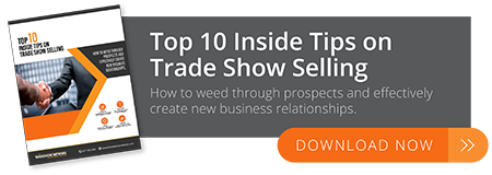trade show selling tips