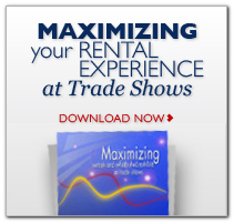 rental trade show displays and exhibits in chicago