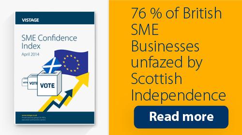 Vistage SME Confidence Index Q1 2014