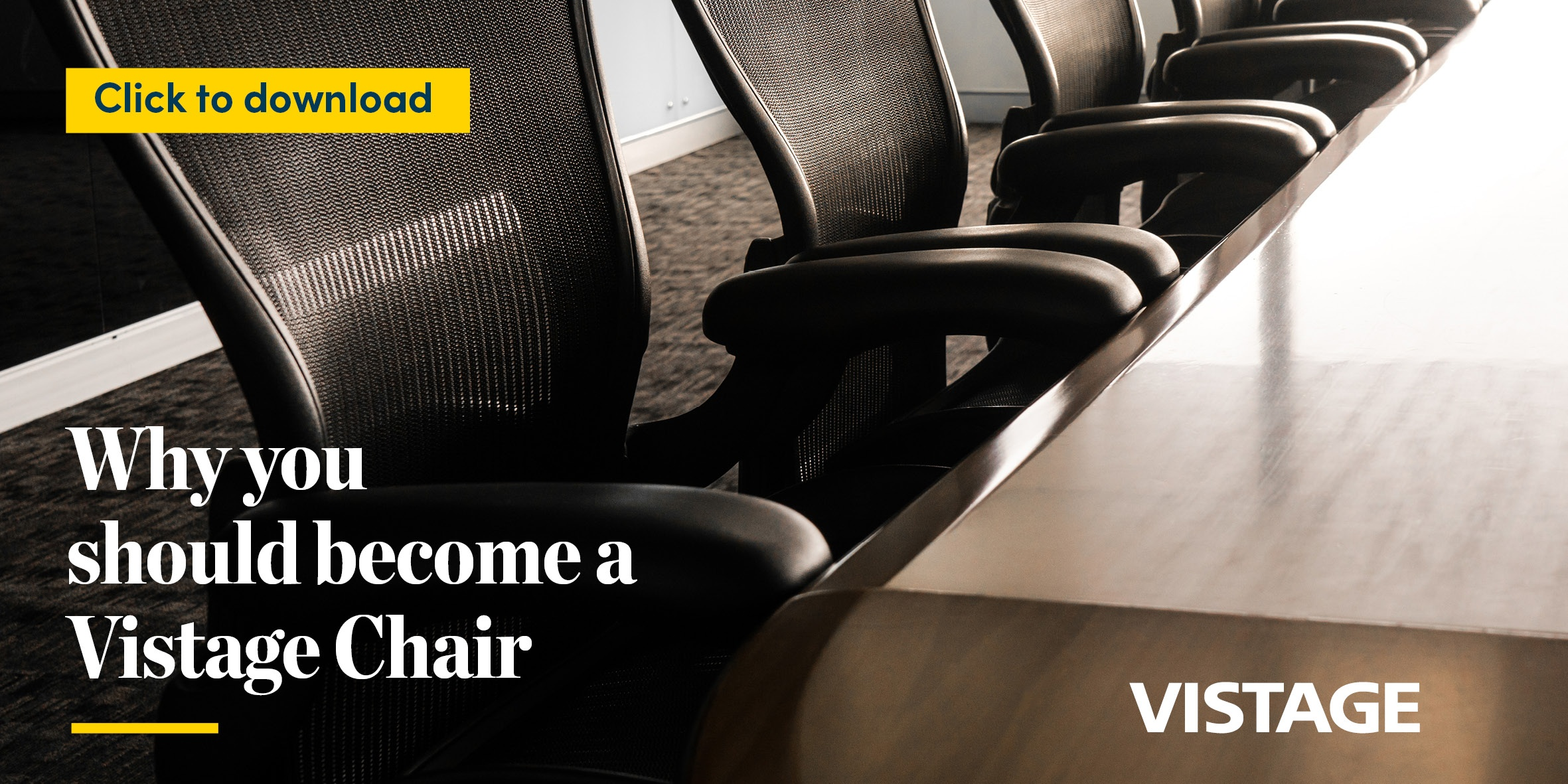 Why you should become a Vistage Chair