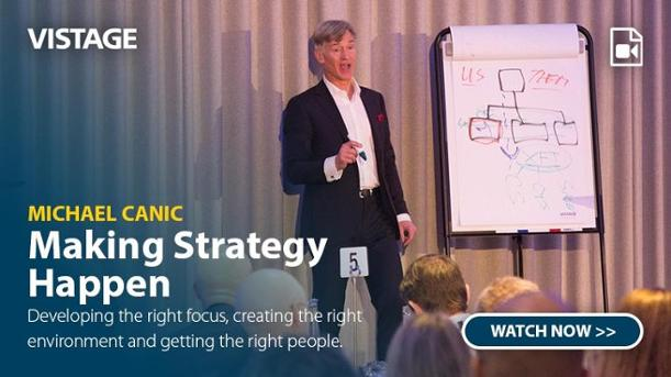 Michael Canic - Making Strategy Happen