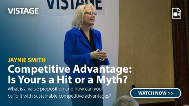 Jaynie Smith - Competitive Advantage