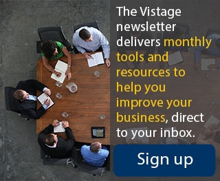 Vistage Newsletter - Sign up
