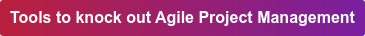 Tools to knock out Agile Project Management