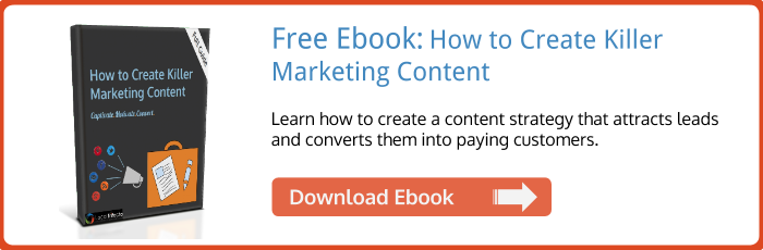 Create Killer Content ebook