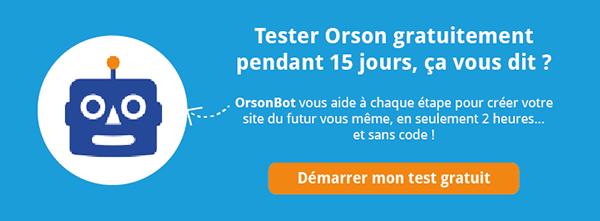 Tester Orson gratuitement