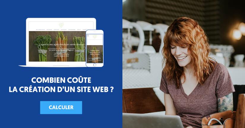 Prix de création d'un site internet