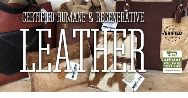 Certified Humane and Regenerative Leather
