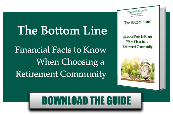 The Bottom Line- Financial facts to know about retirement communities