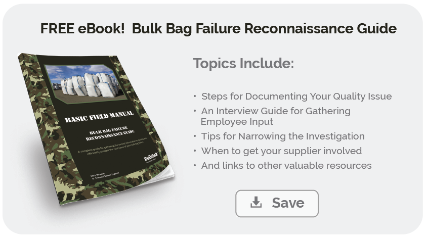 Get your FREE copy of our Bulk Bag Failure Reconnaissance Guide!