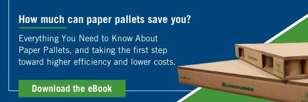How much can paper pallets save you?