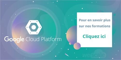Formation GCP Goolge Cloud Platform WeScale
