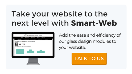 Design glass online with Smart-Web