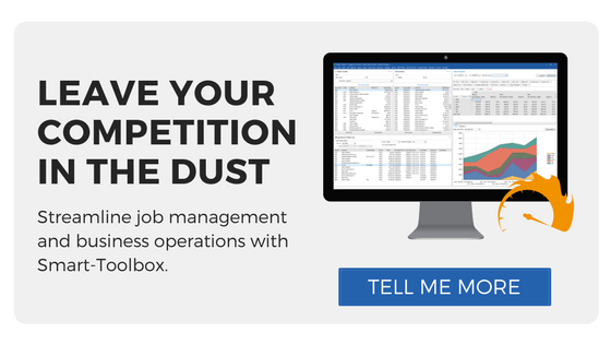 Beat the competition  Streamline job management and business operations with Smart-Toolbox. tell me more