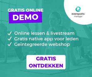 Gratis online demo: online lessen en livestream, gratis native app voor leden en geïntegreerde webshop. Klik hier om de software gratis te ontdekken.