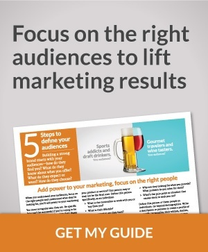 Profile your  audiences with  our 5 steps guide