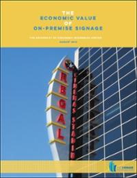 Economic Value of Signs, University of Cincinnati (2012)
