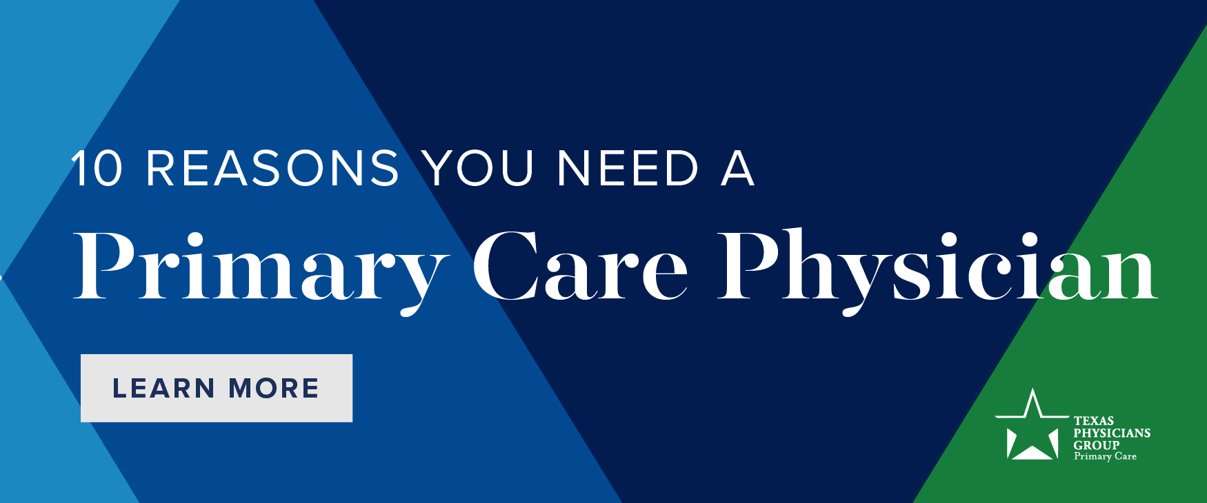 10 Reasons You Need A Primary Care Physician